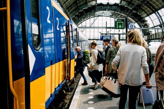 Intresset för tågsemester har ökat markant i Sverige.
