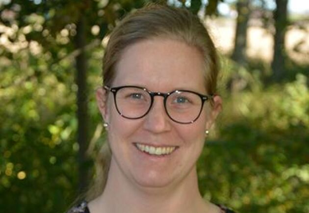 Anna-Carin Almqvist, rådgivare på Hushållningssällskapet i Halland.