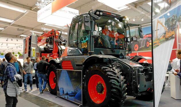 Den österrikiska traktorn Syn Trac har nu börjat säljas.
