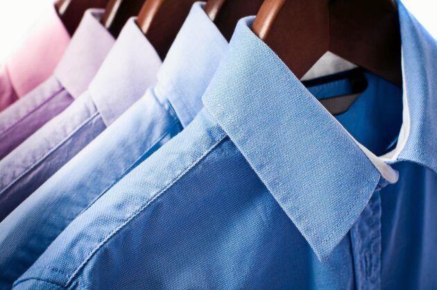 Rätt sorts galgar är viktiga för att kläderna inte ska tappa passformen