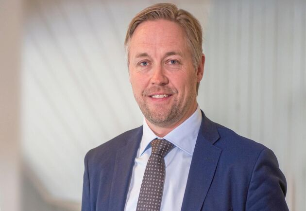Jonas Mårtensson, Affärsområdeschef Skog SCA.