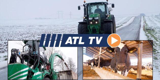 ATL TV: Så mycket diesel drar en kallstart
