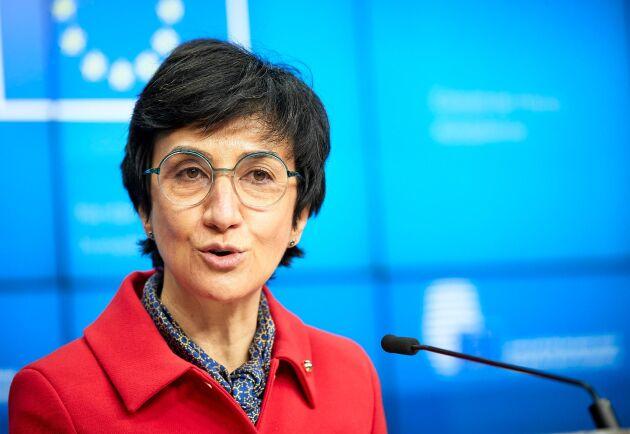Portugals jordbruksminister Maria do Céu Antunes är medlemsländernas topprepresentant i Cap-förhandlingarna.