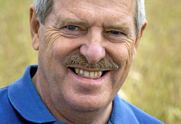 """""""Priserna har gått ner oerhört mycket vilket är oroande"""", säger Mats Eriksson på den privata spannmålshandlaren BM Agri."""
