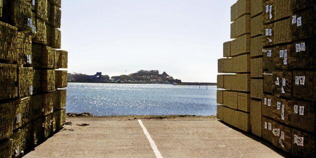 Här är hamnen som skeppar mest sågade trävaror