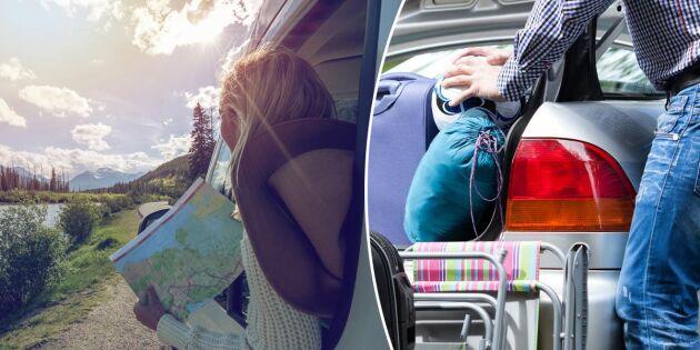 5 viktiga saker att tänka på inför sommarens bilsemester