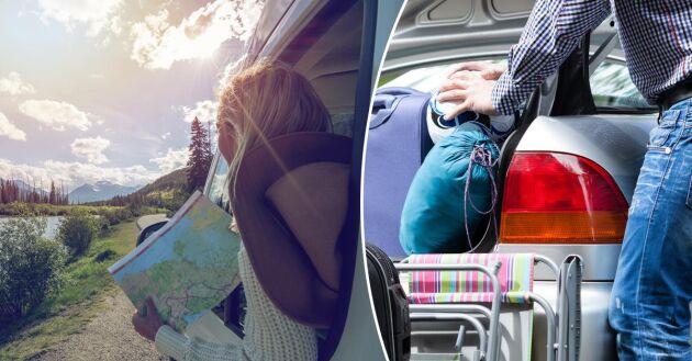 Planera för sommarens bilresor så du har med dig allt du behöver. FOTO: ISTOCK