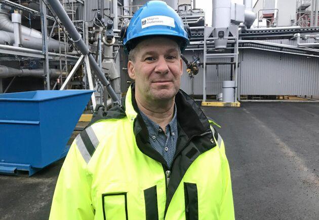 Magnus Pettersson är energisamordnare på Höganäs AB.