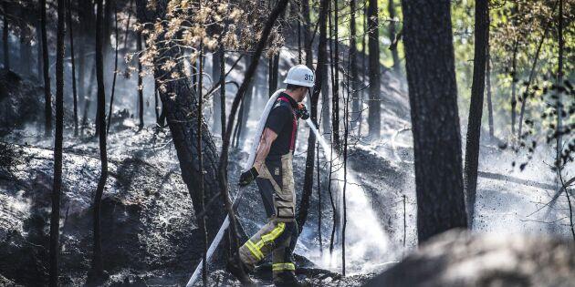 Tunga beskedet – brandrisken ökar igen