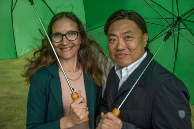 Ann Henriksson, vd LRF Media och Johan Svensson, affärsutvecklingschef