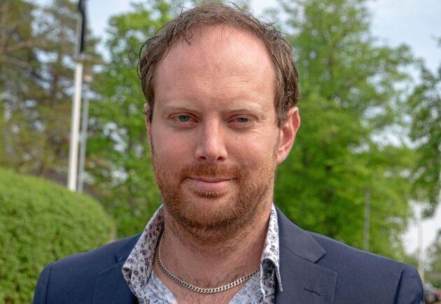 Emil Hjalmarsson, LRF Skåne och ledamot i arrendatorrådet.