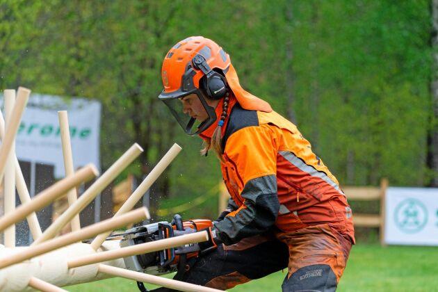 I Skogs-EM deltog elever och studenter från skogsutbildningar i hela Europa. Under tre dagar har 22 lag med 88 deltagare från 17 länder tävlat i Svenljunga. Lagen har bland annat fått göra upp om vem som snabbast och med högst precision kan kvista en stock, byta kedja på en motorsåg eller fälla ett träd.