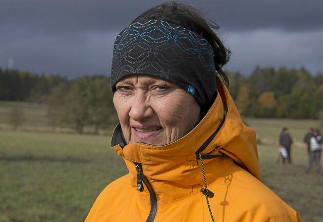 Zonja Ottosson sitter i tävlingskommittén för vallhundar.