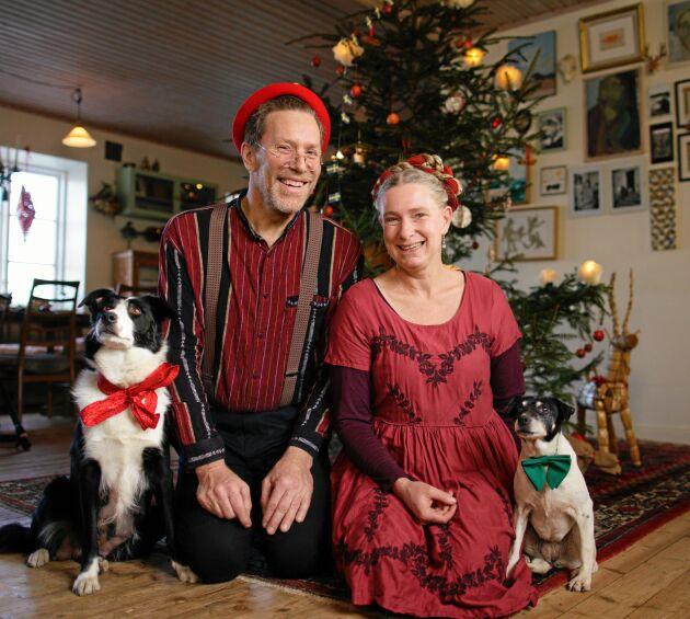 JULPROGRAM. Den 21 december är det dags för Mandelmanns jul i TV4, med Gustav och Marie Mandelmanns-