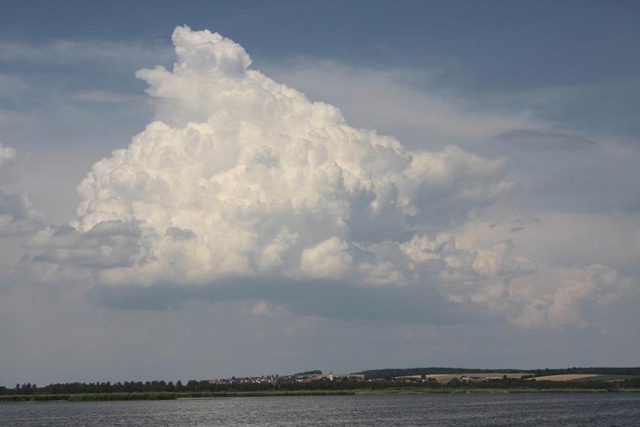Cumulus congestus.