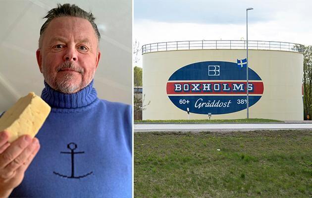 Peter Trygg har initierat en protestmarsch mot Arlas beslut att stänga Boxholms mejeri.