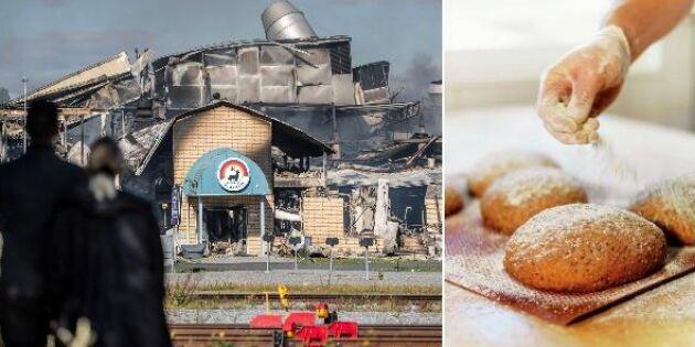 Efter branden: Lantmännens leveranser till Älvsbyn står still