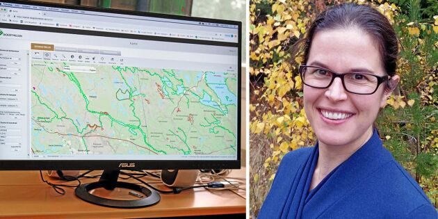 Skogsstyrelsen samlar uppgifter i dold lista