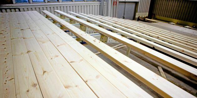 Rekordår för trävaruexporten