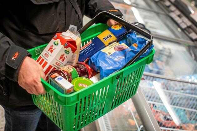 Priset för varorna i korgen kan skilja stort mellan butiker och orter visar PRO:s årliga koll.