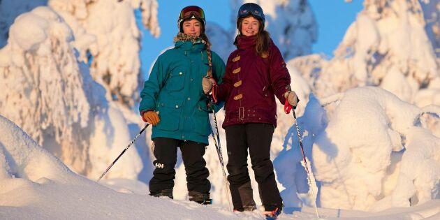 """Systrarna Gunnarstedt driver familjens skidanläggning i Kåbdalis: """"Vi är så tacksamma för farfars och pappas satsning"""""""