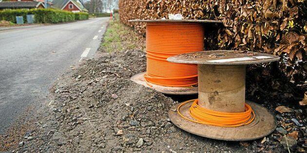 1,4 miljarder till bredbandsutbyggnad