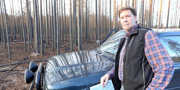 Skogsägare kan gå miste om miljoner i brandstöd