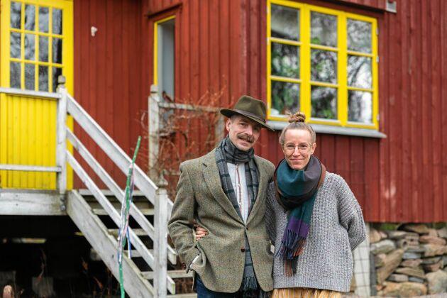 Designerduon Fredrik och Lina Borghard bor och arbetar ihop och inspireras av 1800-talets Shakerrörelse.