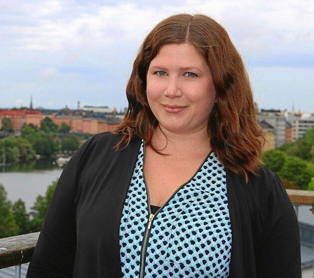 Karin Fälldin är förbundssekreterare i Bygdegårdarnas riksförbund. Foto: Pressbild
