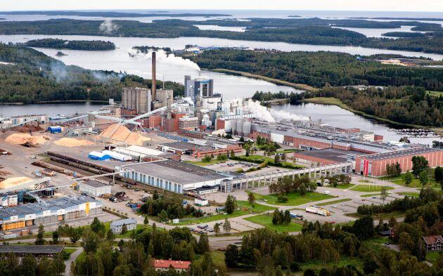 Iggesunds bruk, i Hälsingland.