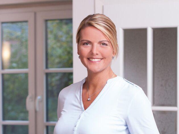 Pressbild på Christina Schulze Föcking, nytillträdd jordbruksminister för CDU i den tyska delstaten Nordrhein-Westfalen.