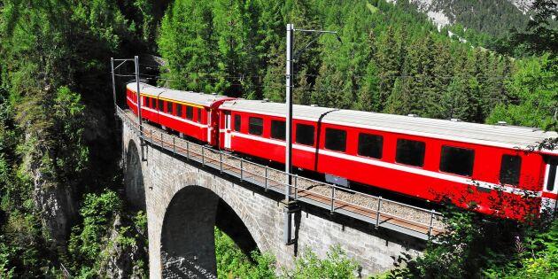 """Resejätten återupplivar sin tågcharter i Europa: """"Ökad efterfrågan på tågresor"""""""