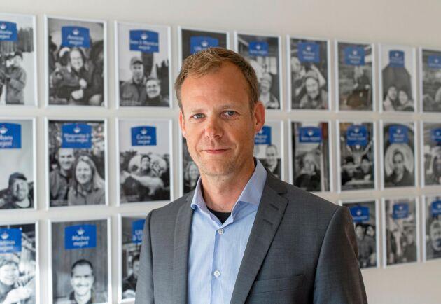 Norrmejeriers vd Anders Fredriksson.