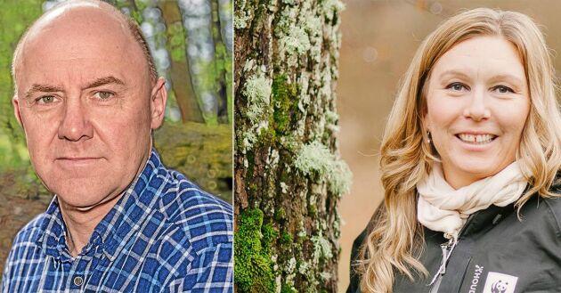 Skogsstyrelsens nya metod för att inventera nyckelbiotoper i nordvästra Sverige får kritik från Sven Erik Hammar hos LRF Skogsägarna och Linda Berglund på WWF.
