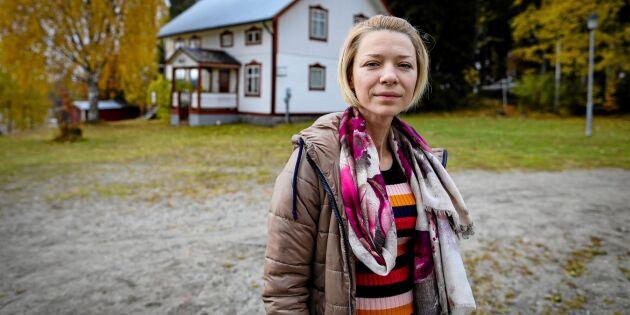 """""""Tjernobylbarnet"""" Lesia återvände till Kärrsjö: 'Jag har inte råd med fler behandlingar'"""