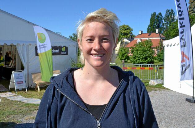 Amanda Hedlund, mjölkbonde från Storvik.