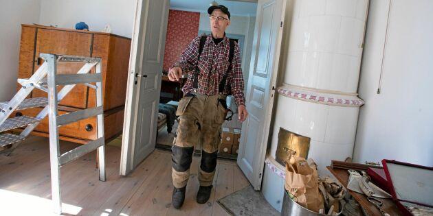 """Så fint! Kalle, 81, är hela bygdens fixare: """"Oumbärlig för oss"""""""