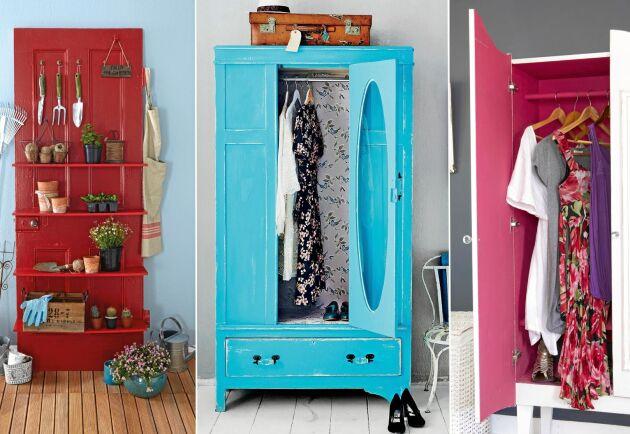 Bara dörren kvar eller bara tråkigt? Här är idéer som som hjälper dig se skåpet på ett nytt sätt.