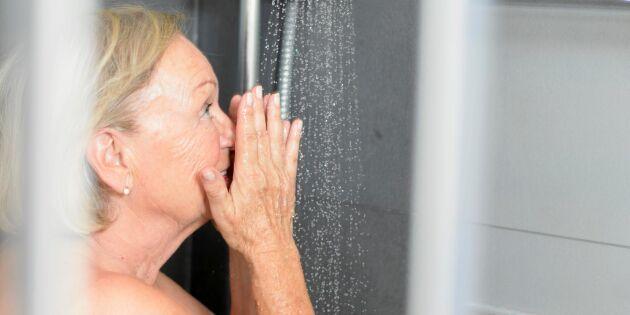 Därför ska du duscha på kvällen
