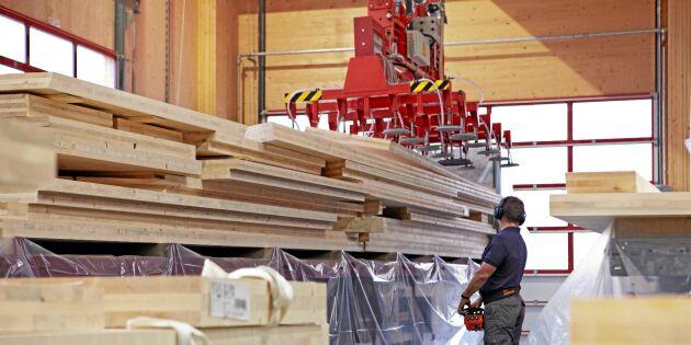 Stora Enso investerar i byggträ vid Gruvön