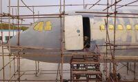 Bonde bygger sitt eget flygplan