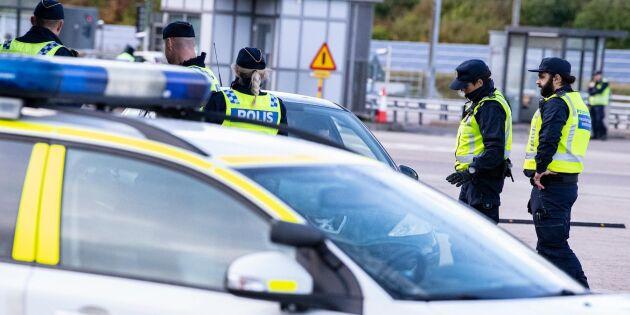 Polisen om inreseförbud: Vi utgår från lagtexten