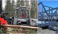 Ny balvagn och sprutrobot utan hytt