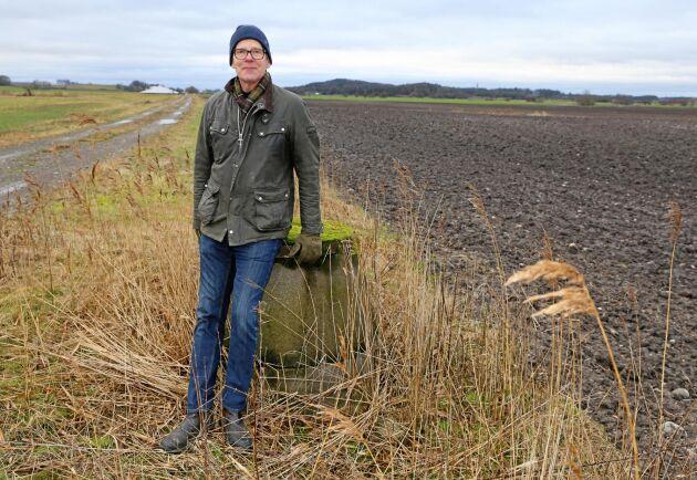 Lennart Andersson i halländska Grimeton ska börja odla havre igen.