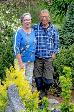 Margareta och Bosse i Täfteå uppskattar att tibast är så härdig.