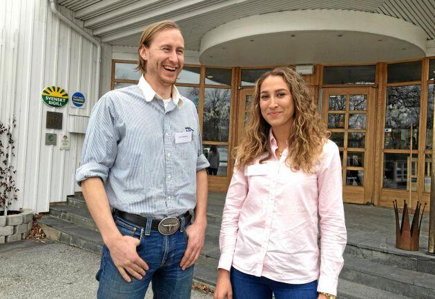 Oliver Kristoffersson, Skåne, och Elisabeth Hidén, Värmland, valdes in i LRF Ungdomens riksstyrelse på stämman 2019. Det gjorde även Cassandra Bjelkelöv Telldahl, Stockholm. Hon blev dock förhindrad att delta i mötet.