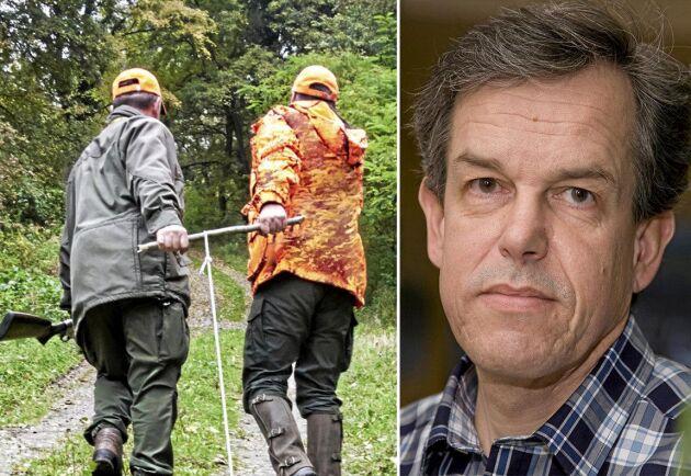 LRF:s jakt- och viltexpert Anders Wetterin är positiv till Naturvårdsverkets förslag men säger att förslaget om statlig skyddsjakt är kontroversiellt.