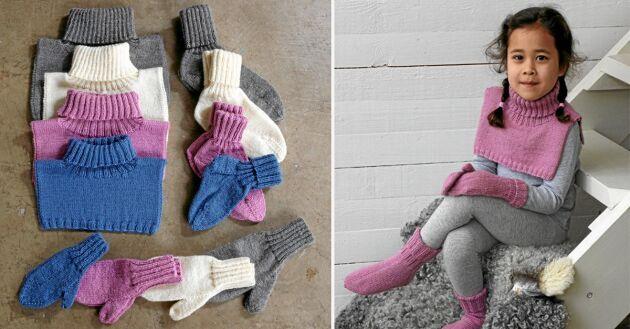 Det mest användbara mönsterpaketet någonsin innehåller vantar, sockor och kragar till alla.