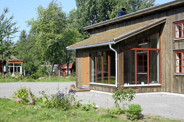 Hemma hos Martha och Anders kan du bo i detta nya hus.
