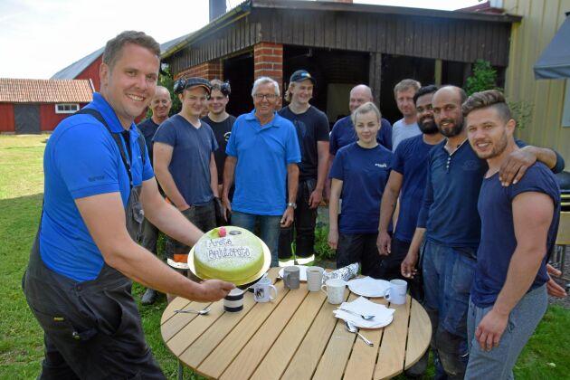 Olof Boson Stranda kyckling Mönsterås Årets Spjutspets 2019.